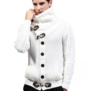 Casual Warm Cardigan For Men Autumn Winter